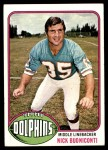 1976 Topps #515  Nick Buoniconti  Front Thumbnail