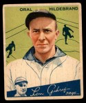 1934 World Wide Gum #95  Oral Hildebrand  Front Thumbnail