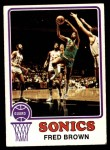 1973 Topps #103  Fred Brown  Front Thumbnail