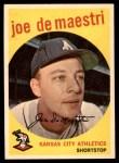 1959 Topps #64  Joe DeMaestri  Front Thumbnail