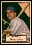1952 Topps #35  Hank Sauer  Front Thumbnail