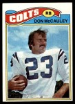 1977 Topps #288  Don McCauley  Front Thumbnail