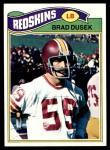 1977 Topps #329  Brad Dusek  Front Thumbnail