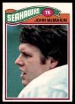 1977 Topps #297  John McMakin  Front Thumbnail