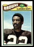 1977 Topps #238  Clarence Scott  Front Thumbnail