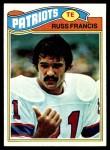 1977 Topps #251  Russ Francis  Front Thumbnail