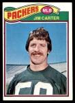 1977 Topps #287  Jim Carter  Front Thumbnail