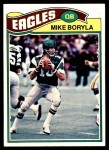 1977 Topps #183  Mike Boryla  Front Thumbnail