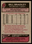 1977 Topps #315  Bill Bradley  Back Thumbnail