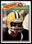 1977 Topps #187  Rich McGeorge  Front Thumbnail