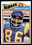 1977 Topps #275  Charley Young  Front Thumbnail