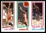 1980 Topps   -  Campy Russell / Armond Hill / Michael Ray Richardson 58 / 21 / 171 Front Thumbnail