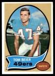 1970 Topps #64  Tom Beier  Front Thumbnail