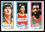 1980 Topps   -  Tom LaGarde / Billy Paultz / Bob Lanier 69 / 109 / 150 Front Thumbnail