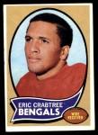1970 Topps #58  Eric Crabtree  Front Thumbnail
