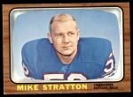 1966 Topps #30  Mike Stratton  Front Thumbnail