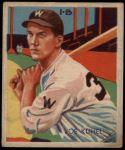 1935 Diamond Stars #78  Joe Kuhel   Front Thumbnail