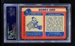 1968 Topps #2  Bobby Orr  Back Thumbnail