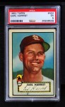 1952 Topps #402  Earl Harrist  Front Thumbnail