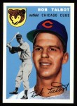 1954 Topps Archives #229  Bob Talbot  Front Thumbnail
