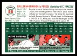 1954 Topps Archives #56  Willie Miranda  Back Thumbnail