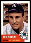 1953 Topps Archives #35  Irv Noren  Front Thumbnail