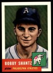 1953 Topps Archives #225  Bobby Shantz  Front Thumbnail