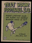 1972 Topps #262   -  Ray May Pro Action Back Thumbnail