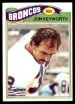 1977 Topps #66  Jon Keyworth  Front Thumbnail