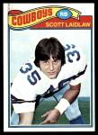 1977 Topps #76  Scott Laidlaw  Front Thumbnail