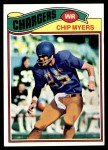 1977 Topps #109  Chip Myers  Front Thumbnail