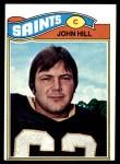 1977 Topps #117  John Hill  Front Thumbnail