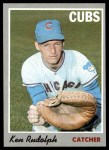 1970 Topps #46  Ken Rudolph  Front Thumbnail