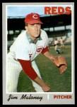 1970 Topps #320  Jim Maloney  Front Thumbnail