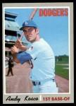 1970 Topps #535  Andy Kosco  Front Thumbnail