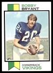 1973 Topps #298  Bobby Bryant  Front Thumbnail
