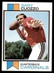 1973 Topps #156  Gary Cuozzo  Front Thumbnail