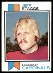 1973 Topps #182  Jeff Staggs  Front Thumbnail