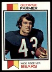 1973 Topps #197  George Farmer  Front Thumbnail