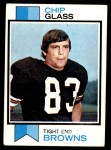 1973 Topps #203  Chip Glass  Front Thumbnail
