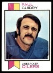 1973 Topps #283  Paul Guidry  Front Thumbnail