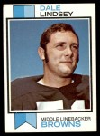 1973 Topps #287  Dale Lindsey  Front Thumbnail