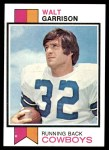 1973 Topps #421  Walt Garrison  Front Thumbnail