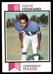 1973 Topps #324  Gene Howard  Front Thumbnail