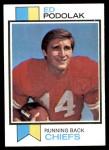 1973 Topps #373  Ed Podolak  Front Thumbnail