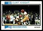 1973 Topps #397  Curt Knight  Front Thumbnail