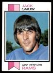 1973 Topps #416  Jack Snow  Front Thumbnail