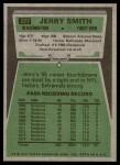 1975 Topps #277  Jerry Smith  Back Thumbnail