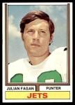 1974 Topps #436  Julian Fagan  Front Thumbnail
