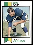 1973 Topps #510  Ron Yary  Front Thumbnail